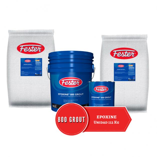 unidad de Fester Epoxine 800 Grout